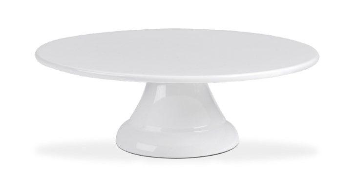 Boleira sem Borda Haus Concept Buffet 20X6,2cm - Branco