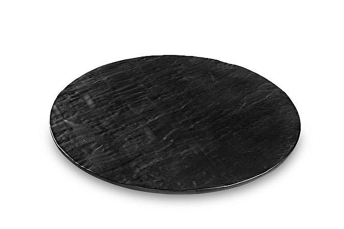Tábua Redonda Haus Concept Stone 40,5X1cm - Preto