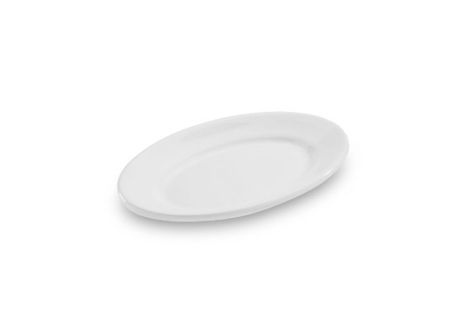 Travessa Oval Haus Concept 23,5x15,5x3cm - Branco