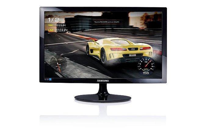 "Monitor Gamer Samsung 24"" Full HD Led LS24D332HSX/ZD - Preto"