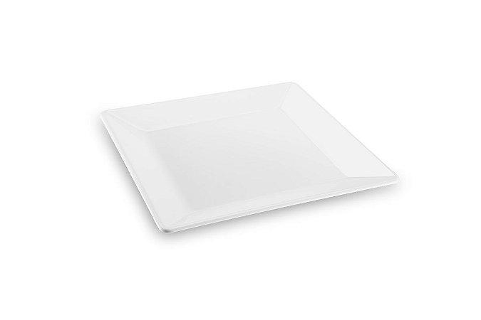 Travessa Quadrada Haus Concept Quadro 42,5x42,5x4cm - Branco