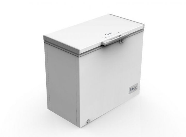 Freezer Horizontal Midea 202L 01 Porta RCFA21 - Branco
