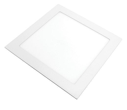 Painel de LED Lorenzetti Quadrado de Embutir 24W 6500K Luz Branca