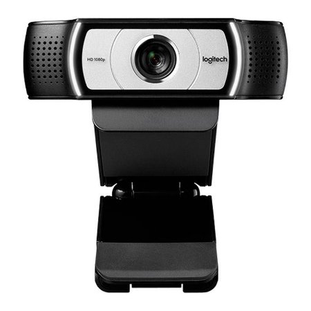 Webcam Logitech C930E Full HD 1080P com Microfone  - Preta