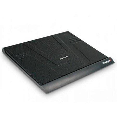 """Base para Notebook Evercool até 15,6"""" Hawk1 NP-511 Refrigerada - Preto"""