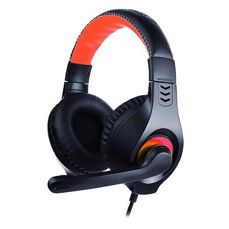 Headset com Fio C3Tech PH-350BK com Microfone Usb - Preto