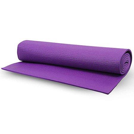Tapete Yoga Mat Acte Sports T10 1,70x58x0,4cm - Roxo