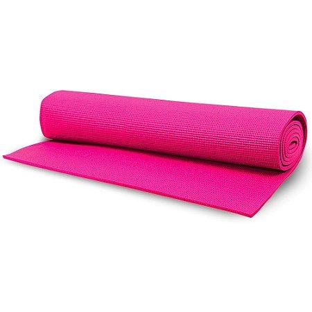 Tapete Yoga Mat Acte Sports T10-R 1,70x58x0,4cm - Rosa