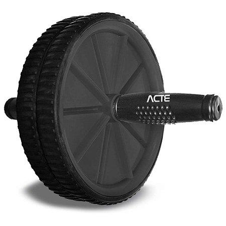Roda Abdominal Acte Sports T14 - Cinza Chumbo