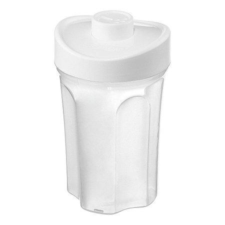Farinheiro de Plástico Sanremo Casar 480ml - Branco