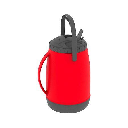 Garrafa Termica 2.5L Isotérmico Soprano Atacama - Vermelho