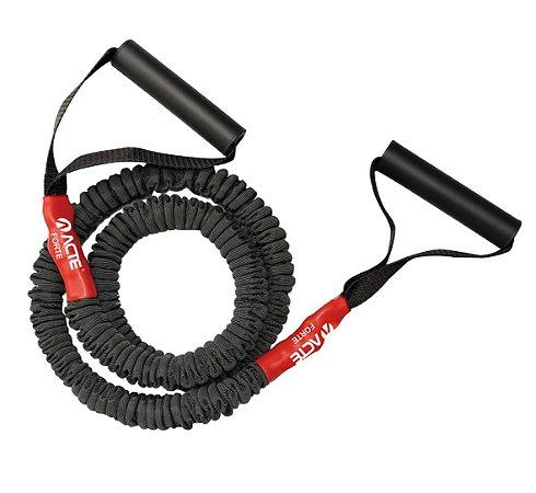 Extensor Elástico Pro Forte Acte Sports T288-F para Braços e Pernas - Vermelho