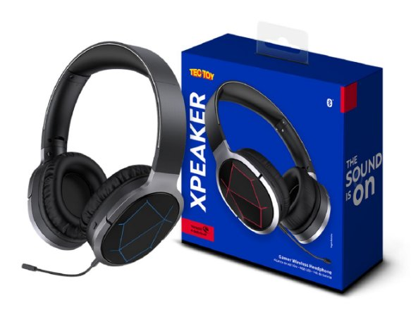Headset Gamer Wireless Xpeaker - Preto - Tectoy