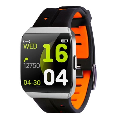 Relógio Smartwatch À Prova D'Água Android e IOS Bluetooth Laranja - Xwatch - TecToy