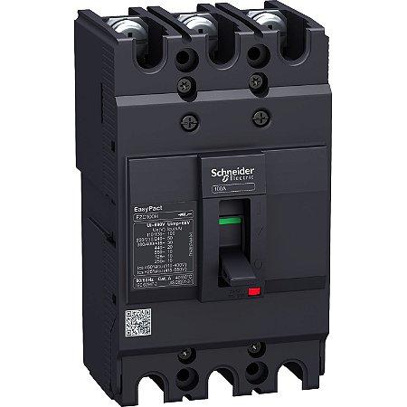 Disjuntor 80A 3P EZC100N - EZC100N3080 - Schneider Electric