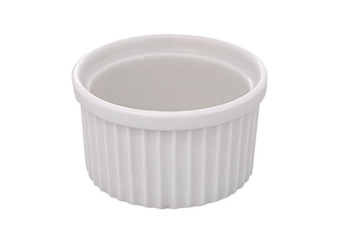 Ramequim Hauskraft de Porcelana 180ml 9x5cm - Branco