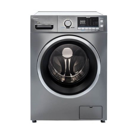 Máquina Lava e Seca Midea 10,2kg Storm Wash Inverter Tambor 4D LSD10X - Prata