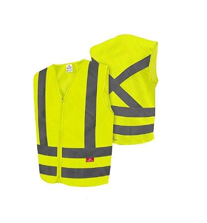 Colete Refletivo Steelflex Sem Bolso STF VACL90010 - Amarelo