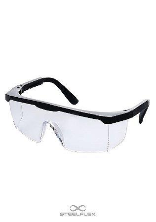 Óculos de Proteção VS206111 - Incolor - CA39859 - SteelFlex