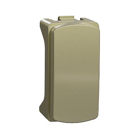 Modulo Cego  2 Peças Dourado Miluz - S3B76663 - Schneider Electric