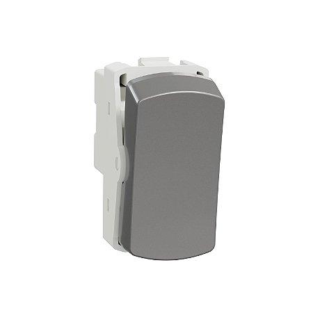 Módulo Bipolar Simples 10A 250V Miluz Alumínio - S3B72042 - Schneider Electric