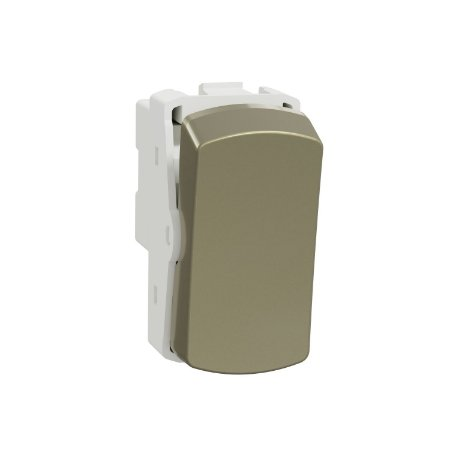 Módulo Bipolar Simples 10A 250V Miluz Dourado - S3B72043 - Schneider Electric