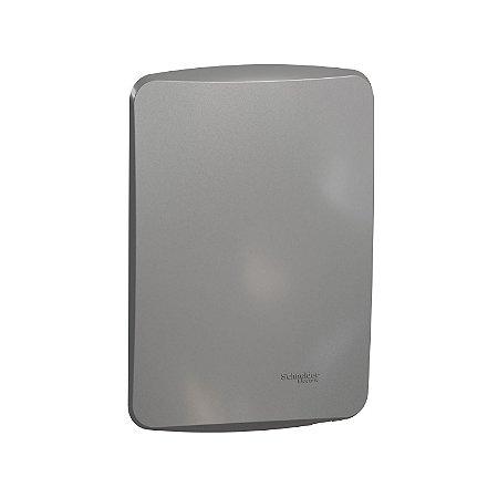 Placa Cega 4X2 com Suporte - Alumínio - Miluz - S3B77102 - Schneider Electric