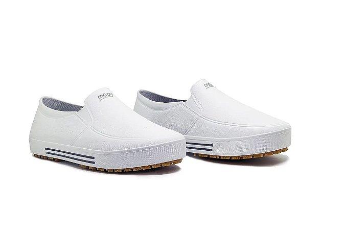 Sapato Impermeável Antiderrapante 75TISG600 - Branco - CA43693 - Moov Fujiwara