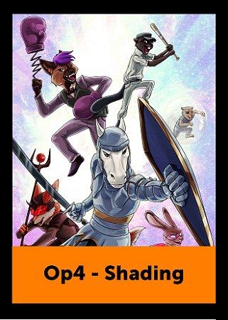Ilustração Op4 - Shading