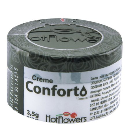 Conforto Creme 3,5gr Excitante Anal Hot Flowers