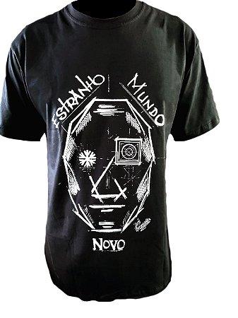 Camiseta Estranho Mundo Novo - Luís Guimarães