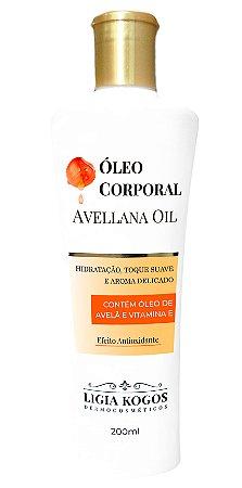 Óleo Corporal Hidratante Avellana Oil Ligia Kogos 200ml