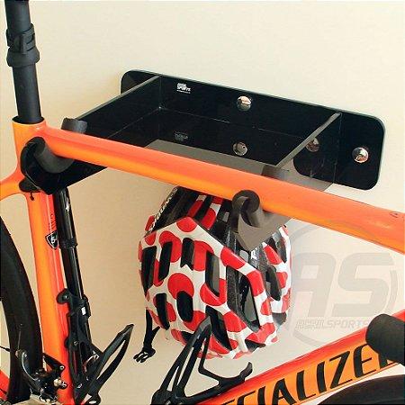 Suporte para bicicleta, capacete e acessórios | Speed / TT | Black | Modelo Unique