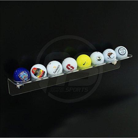 Suporte para bolas de golfe | Transparente | Modelo Birdie