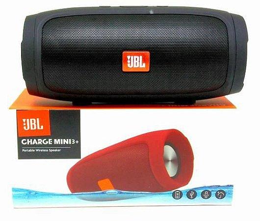 Caixa De Som Jbl Charge 3 mini Bluetooth Som Portátil