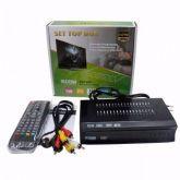 Conversor Set Top Box Receptor Tv Digital Com Gravador