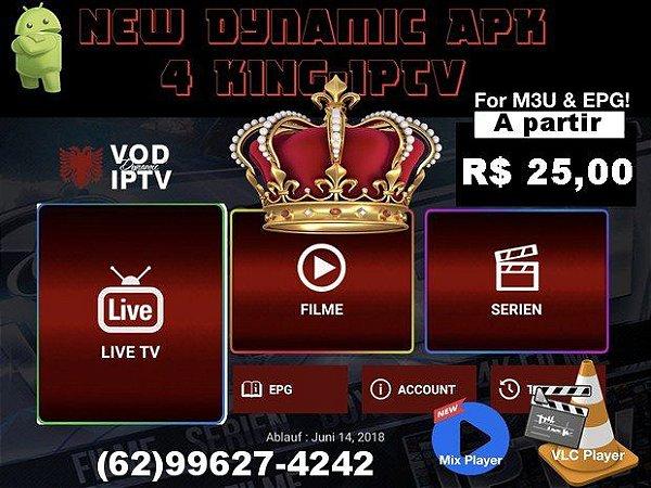 Promoção Assinatura Mensal  King Flix IPTV 3000 Filmes e Series Canais tv fechada