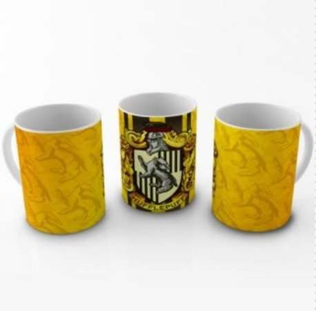 Caneca - Harry Potter Casa Hufflepuff