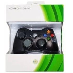 Controle Sem Fio Para Xbox 360 Slim Joystick Wireless - Similar