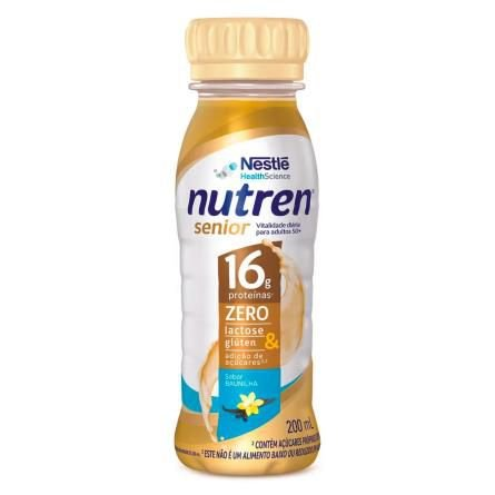 Nutren Senior Baunilha 200ml - Nestlé