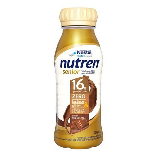 Nutren Senior Chocolate 200ml - Nestlé
