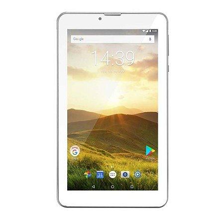 "Tablet 7"" 8 GB M7 4G PLUS Prata Multilaser"