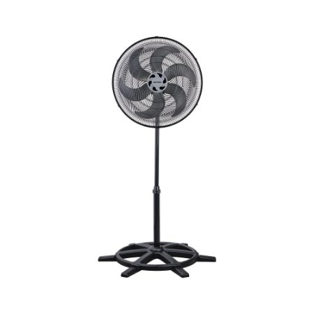 Ventilador 50 CM COLUNA TURBO 6 pás Preto 110v Ventisol