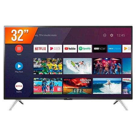 "Smartv TV 32"" Wi-Fi LED Android 32S5300 - Semp Toshiba"