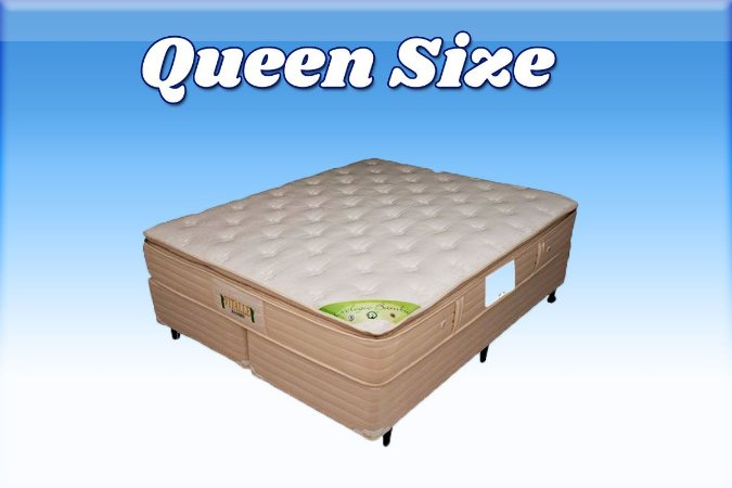 Colchão com Base Box Queen Size 158 cm Vitalle VJOY