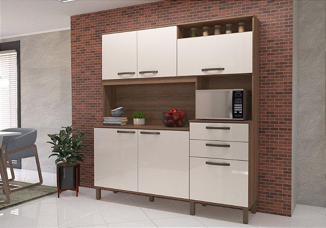 Kit Cozinha Nívea 6 Portas Luciane