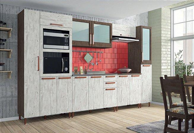 Cozinha Modulada 6 Peças Gold Indekes - Sem Tampo