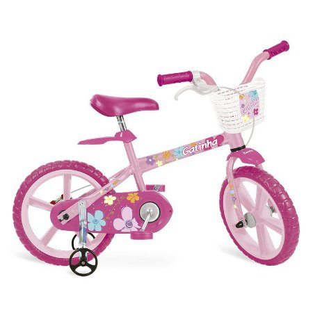 Bicicleta Aro 14 Gatinha 3012 - Bandeirante