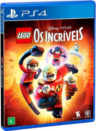 Game Ps4 Lego Os Incriveis