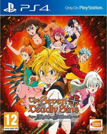 Game Ps4 The Seven Deadly Sins Kob